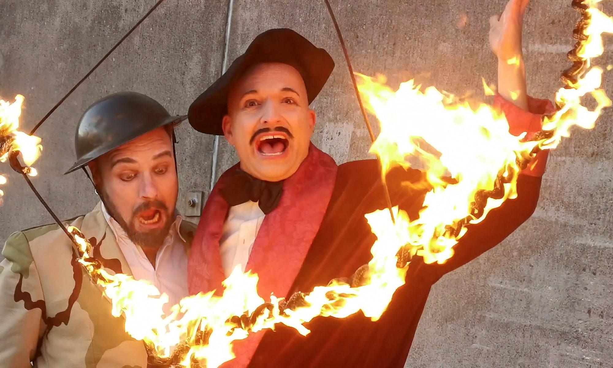 Burning Clowns - street show